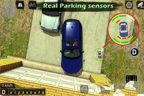 手动挡停车场图2