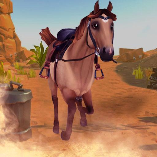 马匹模拟飞跃障碍