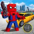 方块蜘蛛侠英雄
