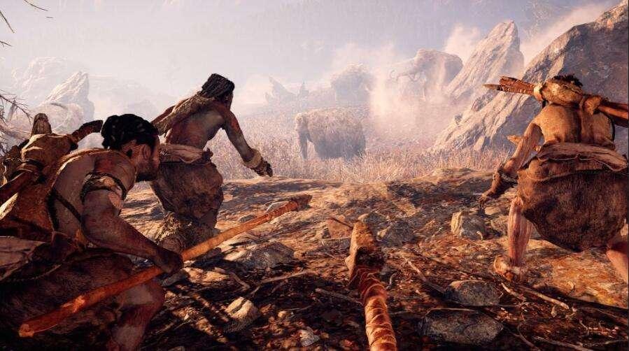 現代人到原始部落的游戲