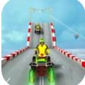 四輪摩托車特技駕駛
