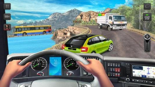 2020第一視角的模擬駕駛游戲