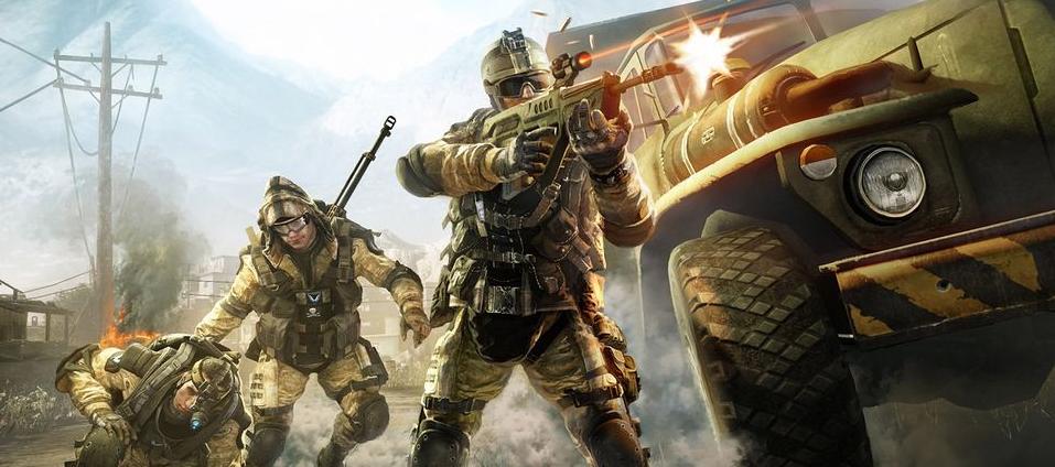 現代化軍事戰爭游戲