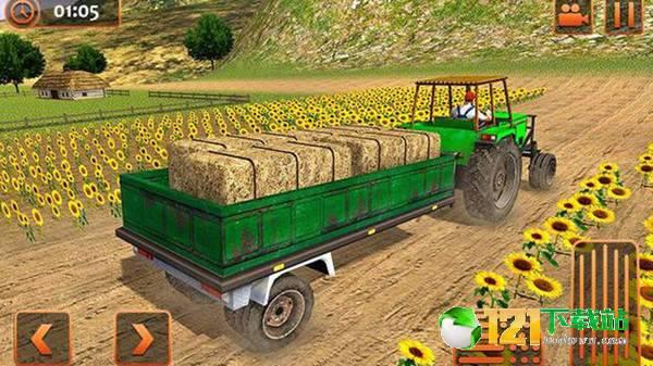 农业拖拉机驾驶模拟图4