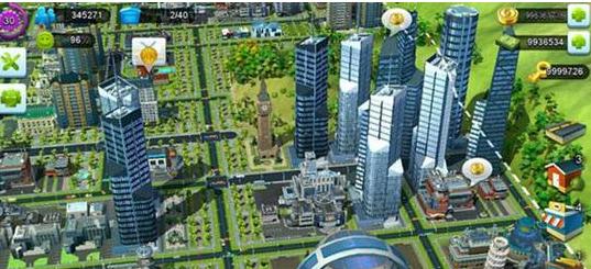 建造城市最逼真的游戲