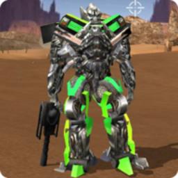 機器人自由開火