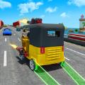 高速公路黃包車射擊