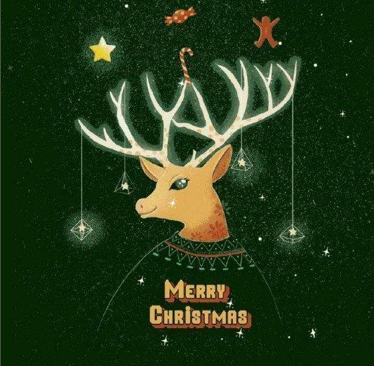 抖音圣诞节壁纸