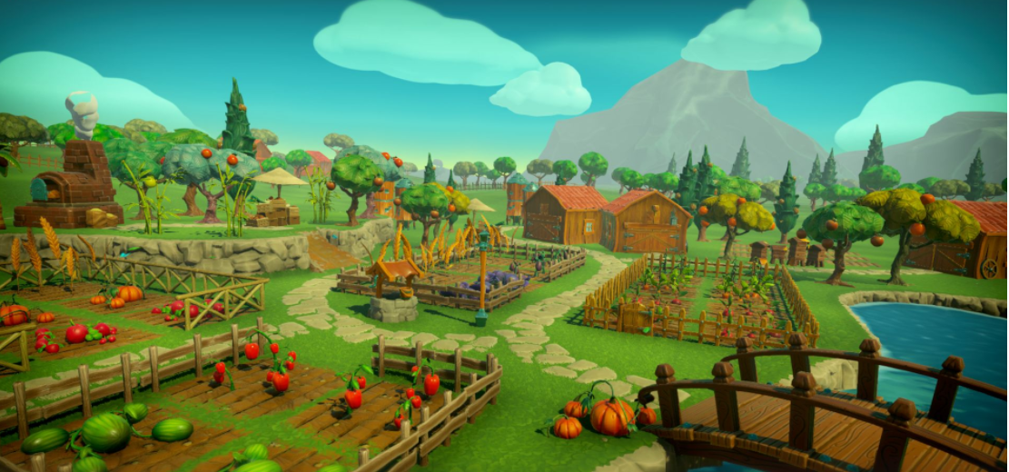 雙人農場游戲