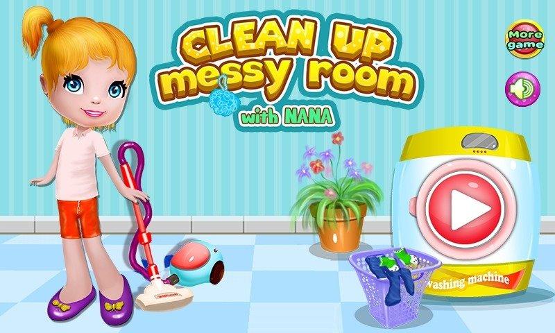 可以打扫房间的游戏