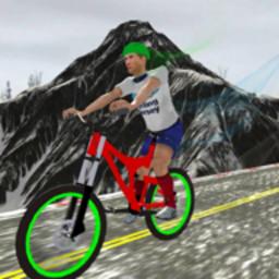 瘋狂的自行車駕駛