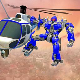 警察直升機機器人