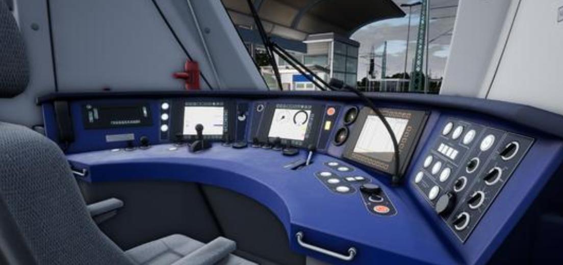模拟驾驶火车的游戏