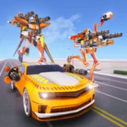 鴕鳥機器人汽車變形戰爭