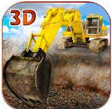 重砂挖掘机模拟器