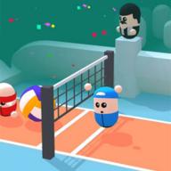 彩色排球3D