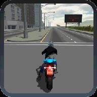 摩托车驾驶竞速模拟器3D
