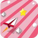 纸飞机飞跃