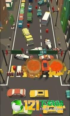 汽车碰撞3D图1