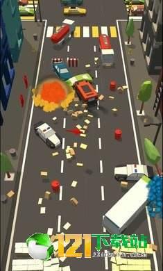 汽车碰撞3D图3