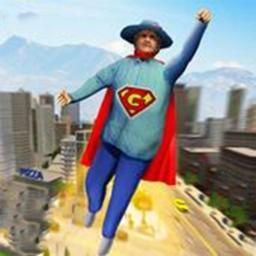 超级奶奶飞行英雄冒险