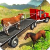 農場動物卡車駕駛