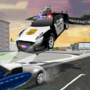 飛車追逐駕駛模擬器:警車