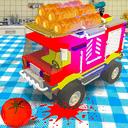 玩具车美食探险
