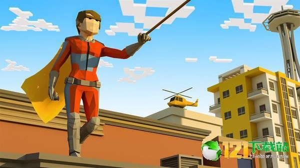 开放城市绳索英雄图3