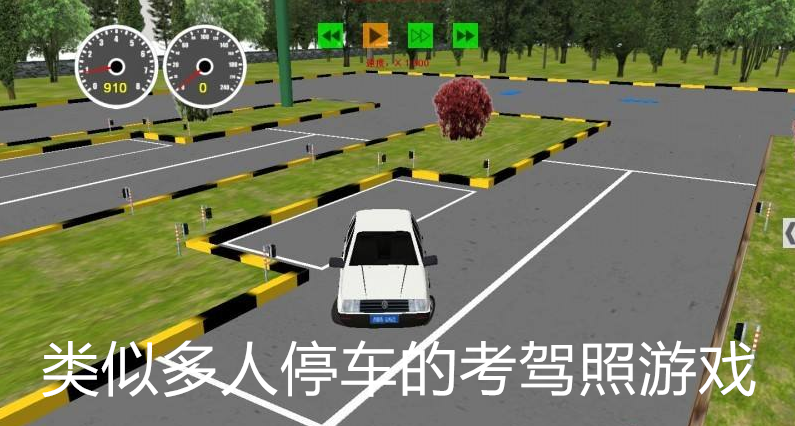 类似多人停车的考驾照游戏