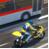 摩托车VS巨型客车