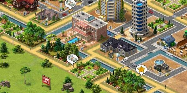 可以建造城市的手游