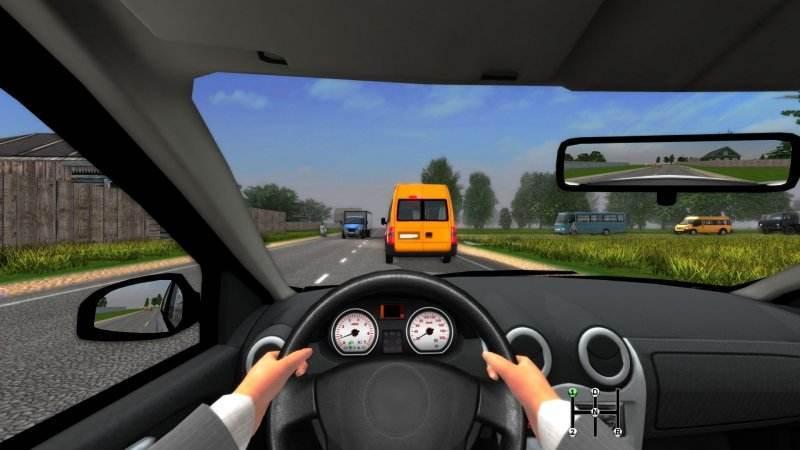 手机模拟驾驶游戏