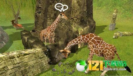 长颈鹿家庭生活丛林模拟器图3