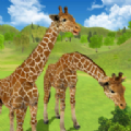 长颈鹿家庭生活丛林模拟器