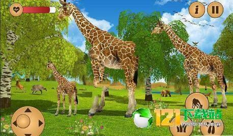 长颈鹿家庭生活丛林模拟器图2