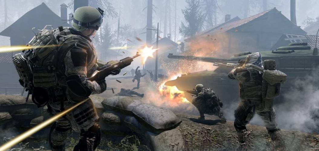 战争题材的射击游戏