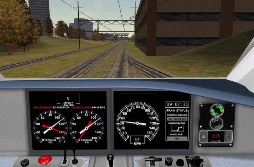 可以开火车的游戏