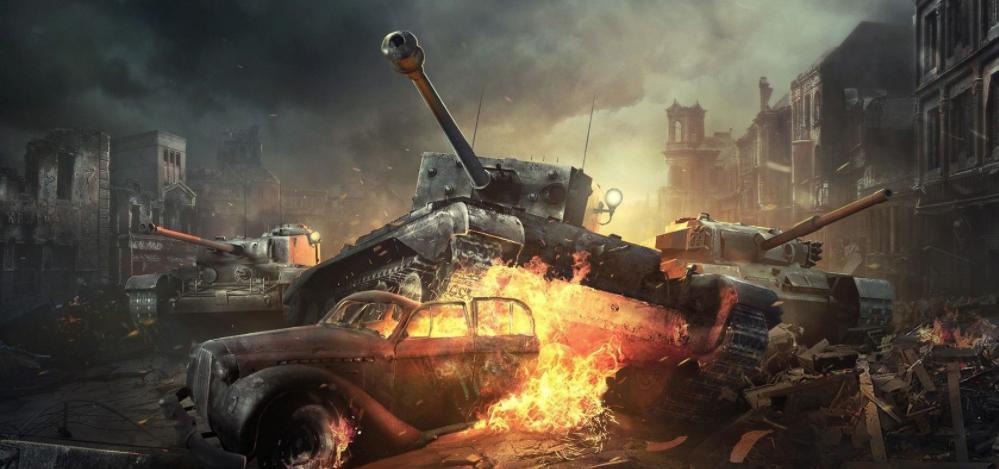 開坦克的戰爭游戲