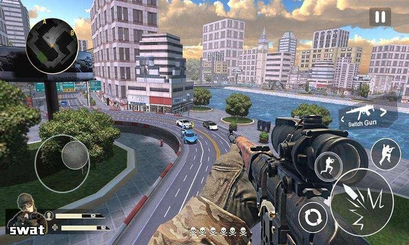 城市狙击游戏