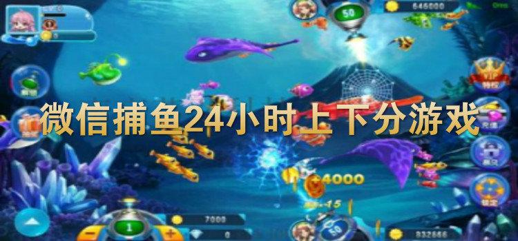 微信捕鱼24小时上下分游戏