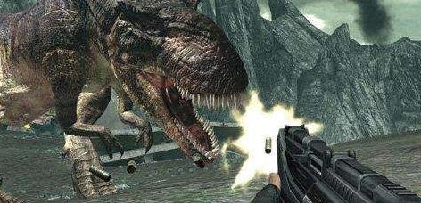 猎杀恐龙的游戏
