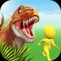恐龍襲擊人類