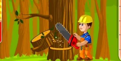 抖音砍树游戏