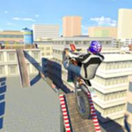 屋顶自行车模拟