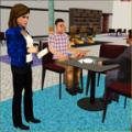 虚拟女服务员模拟器