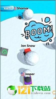 方块人滚雪球图3