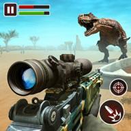 野生动物园恐龙狩猎