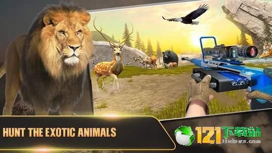 猎鹿野生动物射击图1