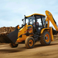 挖掘机与城市建设